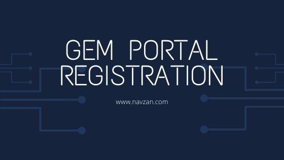 gem portal registration